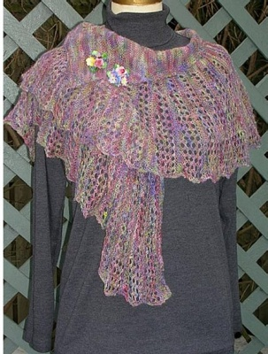 Whimsy Scarf / Pattern - Scarves and Cowls