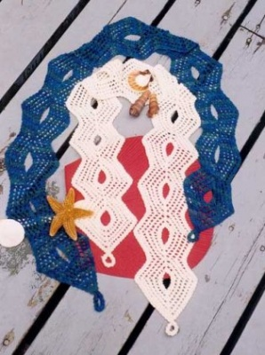 Whole Lotta Holes Scarf pattern -
