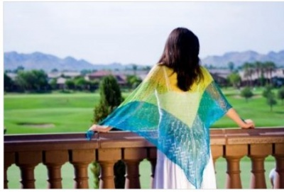 Wings of a Butterfly Wrap/ Pattern for Xie - Shawls/Stoles