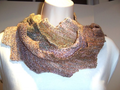 Zap! Zig Zag Scarf/ Pattern by Catie - Scarves and Cowls