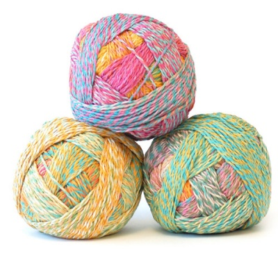 Orphan Skeins:  Zauberball Crazy Cotton #2367